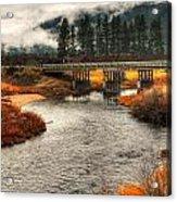 Daveys Bridge Acrylic Print