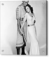 David And Bathsheba, From Left, Gregory Acrylic Print