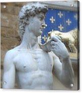 David At Palazzo Acrylic Print