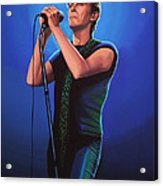 David Bowie 2 Painting Acrylic Print