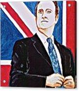 David Cameron 2010 Acrylic Print