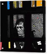 David Carradine Jail Young Billy Young Old Tucson Sound Stage Tucson Arizona 1968 Acrylic Print