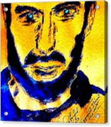 David Copperfield Illusionist Gold 2 Acrylic Print