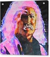 David Crosby Acrylic Print