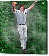 David Wells Yankees Perfect Game 1998 Acrylic Print