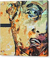 David Who Acrylic Print by Water Lily