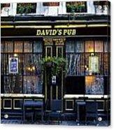 David's Pub Acrylic Print