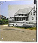 Davis House At Sakonnet Point In Little Compton Ri Acrylic Print