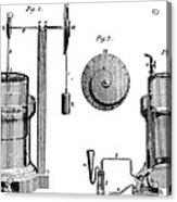 Davy: Gas Machine, 1800 Acrylic Print