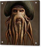 Davy Jones Acrylic Print