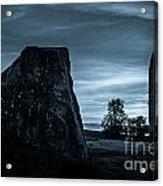 Dawn At Avebury Stone Circle Acrylic Print