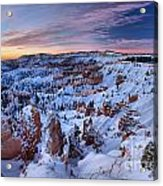 Dawn At Bryce Acrylic Print