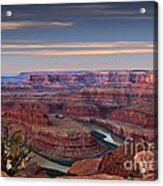 Dawn At Dead Horse Point Acrylic Print