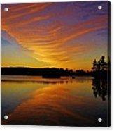 Dawn At Lake Tiorati Acrylic Print