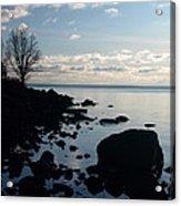 Dawn At The Cove Acrylic Print