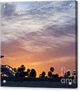 Dawn At Venice Beach Acrylic Print