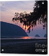 Dawn By The Sea Acrylic Print