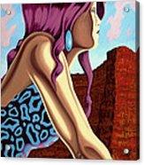 Dawn Acrylic Print by Charles Luna
