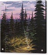 Dawn Fire Acrylic Print