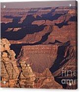 Dawn In The Grand Canyon Acrylic Print