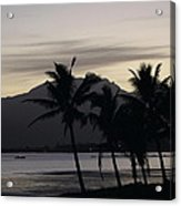 Dawn In Nadi Acrylic Print