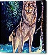 Dawn Of A New Day Original Painting Forsale Acrylic Print
