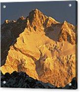 Dawn On Kangchenjunga Talung Face Acrylic Print