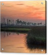 Dawn On The Bayou Acrylic Print