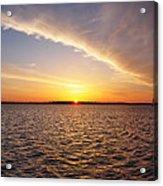 Dawn On The Chesapeak - St Michael's Maryland Acrylic Print