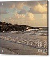 Dawn On The Coral Sea Acrylic Print