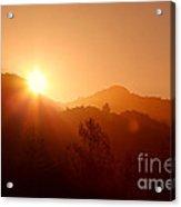 Dawn Over Calistoga Acrylic Print