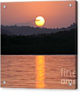 Dawn Over Darien Acrylic Print