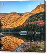 Dawn Over Kinsman Notch Acrylic Print