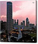Dawn Over Singapore Acrylic Print