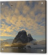 Dawn Over The Lemaire Acrylic Print