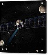 Dawn Spacecraft, Artwork Acrylic Print