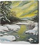 Dawning Of A Winter Day Acrylic Print