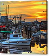 Dawn's Early Light Acrylic Print by Randy Hall
