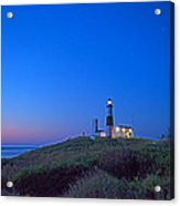 Dawn's Early Light At Montauk Point Acrylic Print