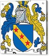 Dawson Coat Of Arms Londonderry Ireland Acrylic Print