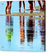 Day At The Beach Acrylic Print