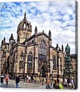 Day At The High Kirk Acrylic Print