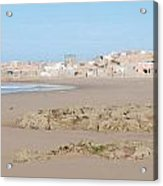 Day At The Moroccan Fishing Village Acrylic Print