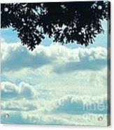 Day Dreaming With Clouds Acrylic Print