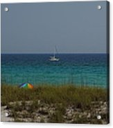Day In Paradise Acrylic Print