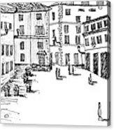 Day In Piazza Di Campitelli Acrylic Print