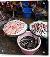 Day Market - Pak Chong Thailand - 011321 Acrylic Print