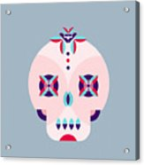 Day Of The Dead Poster Acrylic Print