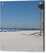 Day On The Beach Acrylic Print