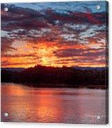 Daybreak Lake Ocoee Acrylic Print by Paul Herrmann